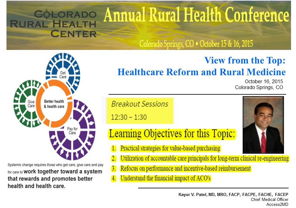 24th Annual Colorado Rural Health Center Conference