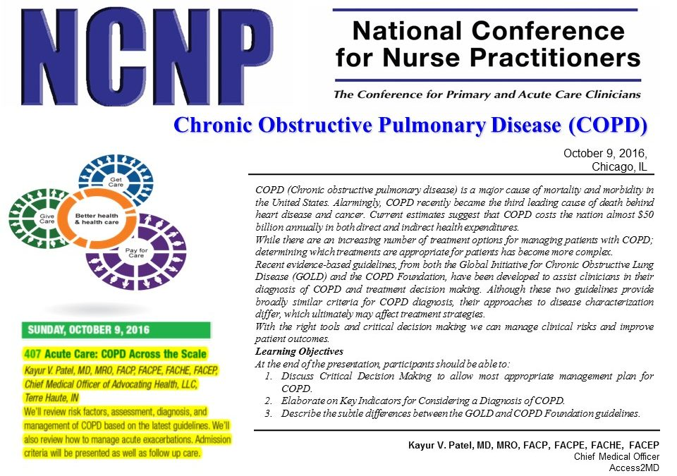 National Conference for Nurse Practitioners Fall 2016 Conference